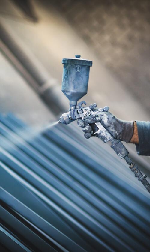 Pulverbeschichtung von Langlitz Metalle