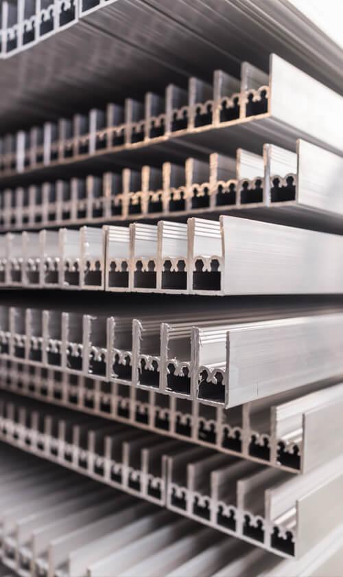 Aluminiumprofil von Langlitz Metalle